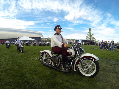 Vintage Motorcycle Festival 2013